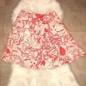 Fei By Anthropologie Flare Skirt